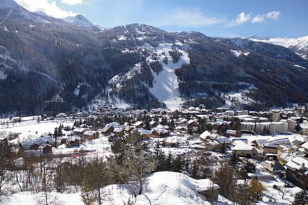Serre Chevalier - Helikopterview