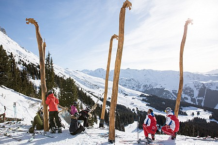 Meribel - Skiklas