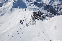 Meribel - Helikopter view
